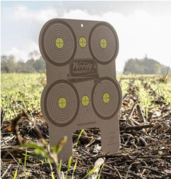 Woodys Targets Multi Target 2pk All Caliber Wooden Shooting Practice Targets W21